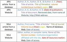 Website Article Citation How To Deal With Apa Citations In Your College Papers