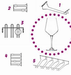 bicchieri per bar vinitaly in alto i calici con i porta bicchieri di
