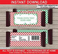 Hershey Candy Bar Wrappers Christmas Hershey Candy Bar Wrappers Personalized Candy Bars