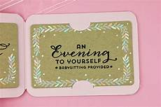 How To Make Babysitting Cards A Kept Life Waltzingmouse Gift Card It Stamp Amp Die Set
