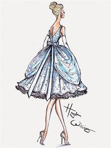 hayden williams fashion illustrations dress designed for