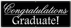 Congratulations Graduate Banner Buy Our Quot Congratulations Graduate Quot Banner From Signs World
