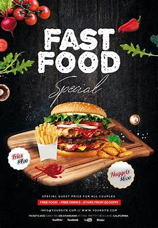 Specials Flyer Template Fast Food Special Free Psd Flyer Template Free Psd Flyer