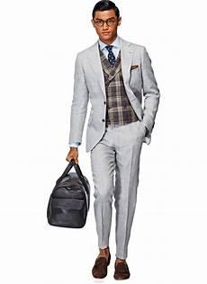 Light Grey Linen Suit Light Grey Linen Suit Dress Wear Men S Fashion Style