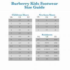 Burberry Prorsum Size Chart Description