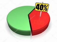 40 Pie Chart Pie Chart 40 Percent Stock Photo 169 Threeart 4677503