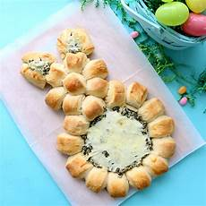 easter bunny spinach dip easy easter appetizer it s