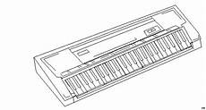 gratis malvorlagen klavier e piano ausmalbild malvorlage musik