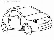 ausmalbilder auto einfach kostenlos malvorlagen zum