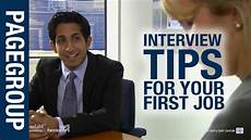 First Job Interview Tips Job Interview Tips For Your First Job Youtube