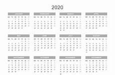 2020 Printable Year Calendar Printable 2020 Calendar By Year Printable Calendar Free