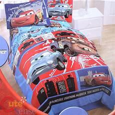 Disney Cars Bedroom Set Disney Cars Mcqueen 4pc Bedding Comforter Set Ebay