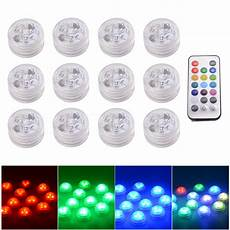 Battery Operated Led Lights With Remote Remote Control Smd3528 Rgb Submersible Led Lights Cr2032