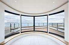 Cubed Glass Windows Curved Windows Curved Glass Sliding Doors Musselburgh