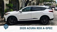 when will acura rdx 2020 be available 2020 acura rdx a spec sh awd review