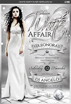 Free All White Party Flyer Template White Party Flyer Template V2 By Lou606 Graphicriver