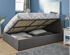 milan bed company side lift 4ft small ottoman bed