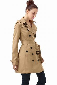 trench coats for tire bgsd s hooded mid length trench coat