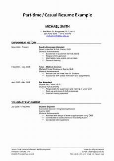 Resume For Part Time Job Student Part Time Job Resume Examples 2019 Resume Examples 2019