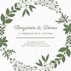 Free Custom Evites Customize 639 Wedding Invitation Templates Online Canva