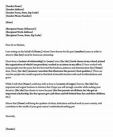Immigration Recommendation Letter Sample Letter Of Support For Immigration 10 Sample Reference