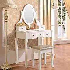 mefeir princess dressing table stool with