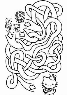 kinder malvorlagen labyrinth kinder ausmalbilder