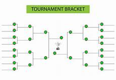 Tournament Table Template Tournament Bracket Blank Template Vector Download Free