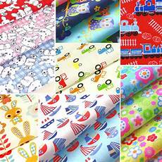 childrens fabric polycotton material nursery boy