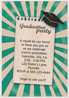 Graduation Party Invite Template 19 Free Printable Graduation Invitations Templates