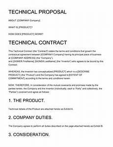 Technical Offer Sample Business Proposal Templates 100 Free Examples Edit