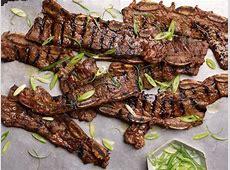 Kalbi (Korean Barbequed Beef Short Ribs) Recipe   Food Network
