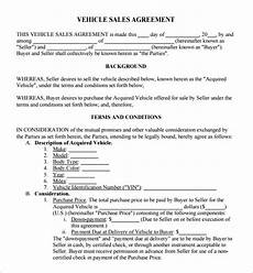 Sales Agreement Template Word 7 Sales Agreement Templates Word Excel Pdf Templates
