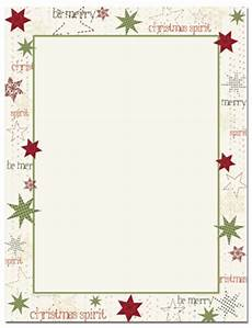 Holiday Stationery Paper Holiday Letterhead Free Printable Letterhead