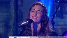 Bareilles Chart History Bareilles Performs I Choose You On Today