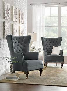 uniquely shaped chairs are a home accent