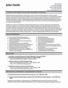 Civil Supervisor Cv Sample Image Result For Construction Supervisor Resume Pdf