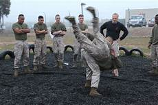 Marine Corp Martial Art Miramar Instructor Continues The Fight Trains Marines In