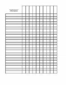 Attendance Maker Attendance Sheets Business Mentor