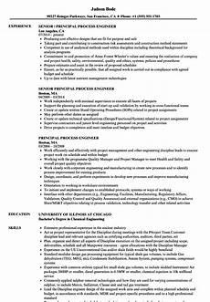 Process Engineering Resumes Cv Sample Process Engineer Process Engineer Resumes