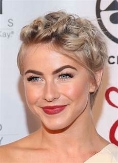 kurzhaarfrisuren hochzeit damen julianne hough shows a hairstyle option for