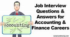 Interview Questions Accounting Job Interview Questions And Answers For Accounting And