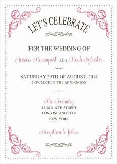 Wedding Invitations Microsoft Word Wedding Invitations Template Wedding Invitations