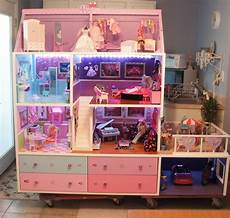 Barbie Doll House With Lights Barbie Doll House Completed Lights Camera And Action