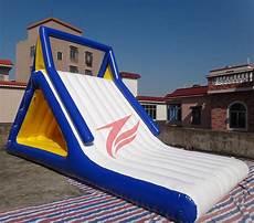 Floating Slide Floating Lake Inflatable Water Park Slide For Sale