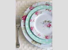 Fresh Breeze Floral melamine dinnerware love this