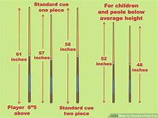 Pool Stick Size Chart How To Choose A Pool Cue Length Best Pool Product