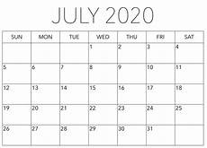 calendar in word 2020 simple july 2020 calendar word with holidays one