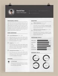 Resume Template Illustrator 50 Beautiful Free Resume Cv Templates In Ai Indesign