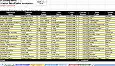 Sales Pipeline Xls Excel Download Sales Management Spreadsheet